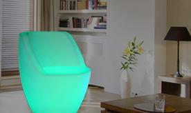 Colorful Led furnitures & Jars