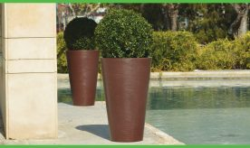 Round Havazelet Flower pot